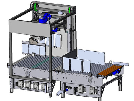 Bundler Double Rotator Increases Efficiency as it Stacks