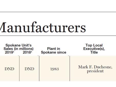 Alliance Ranks on List of Leading Manufacturers