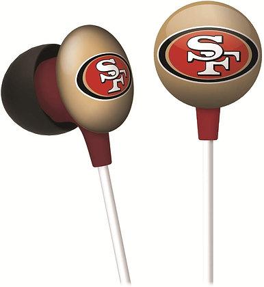 NFL iHip Head Phones 49ers