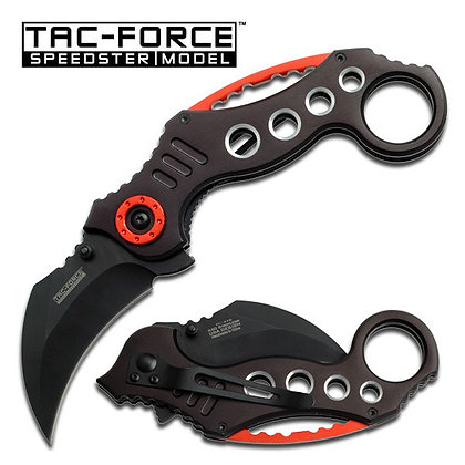Tac Force Folding Karambit Pocket Knife TF-578BK