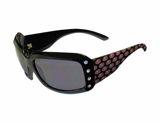 49ers Ladies Bling Sunglasses