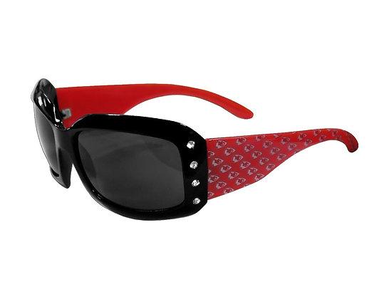 Chiefs Ladies Bling Sunglasses