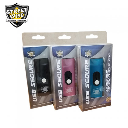 Streetwise USB Secure 22,000,000* Keychain Stun Gun