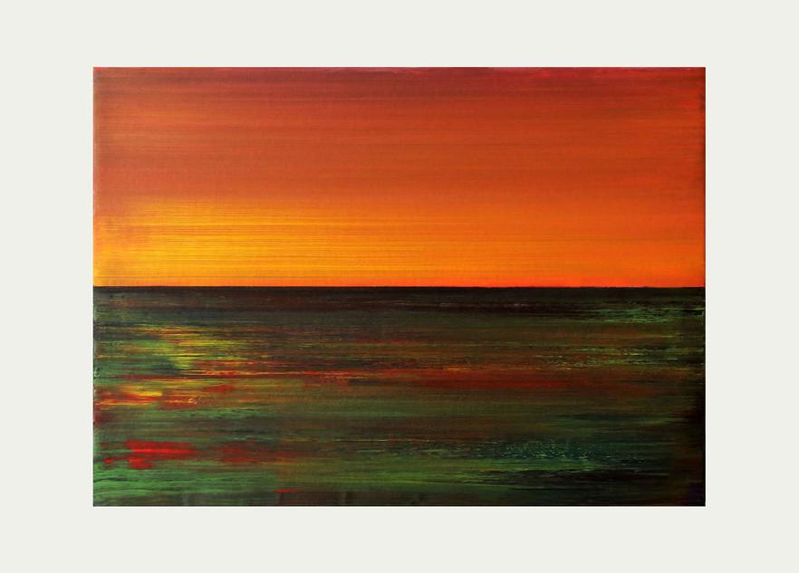 Acrylique toile 33 cm x 46cm