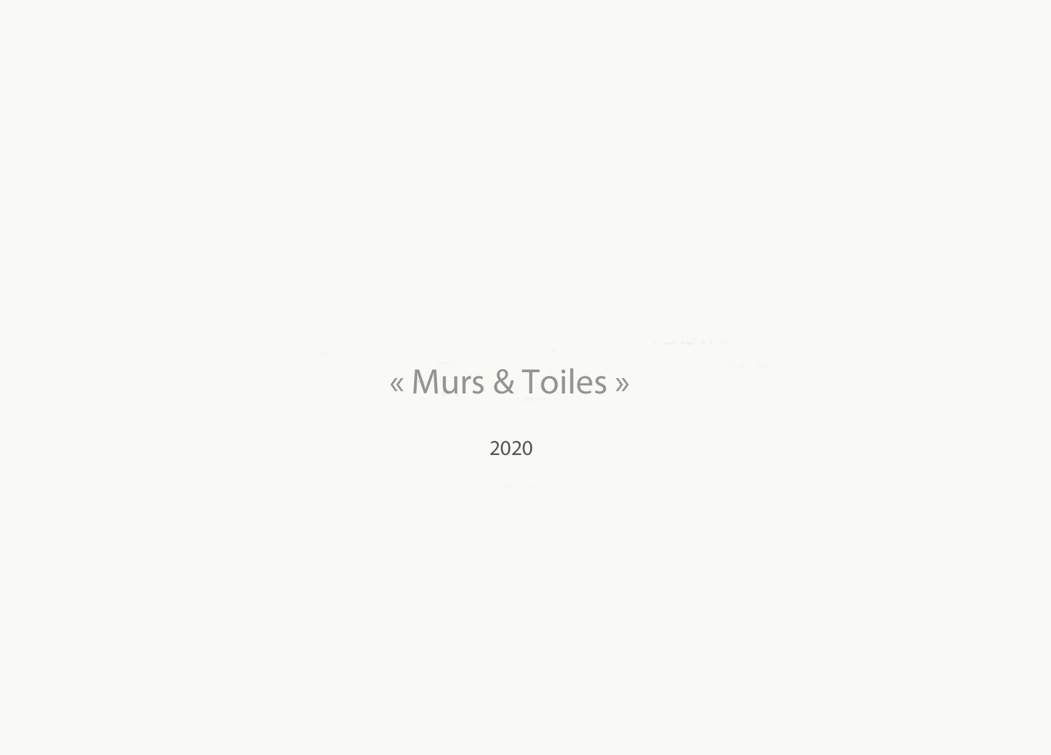 Murs & Toiles