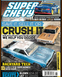 Coast Chassis As Seen In Super Chevy Magazine