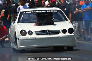 Coast Chassis Ultimate Outlaws 10.5: The Supercharged Mercedes Benz SL55