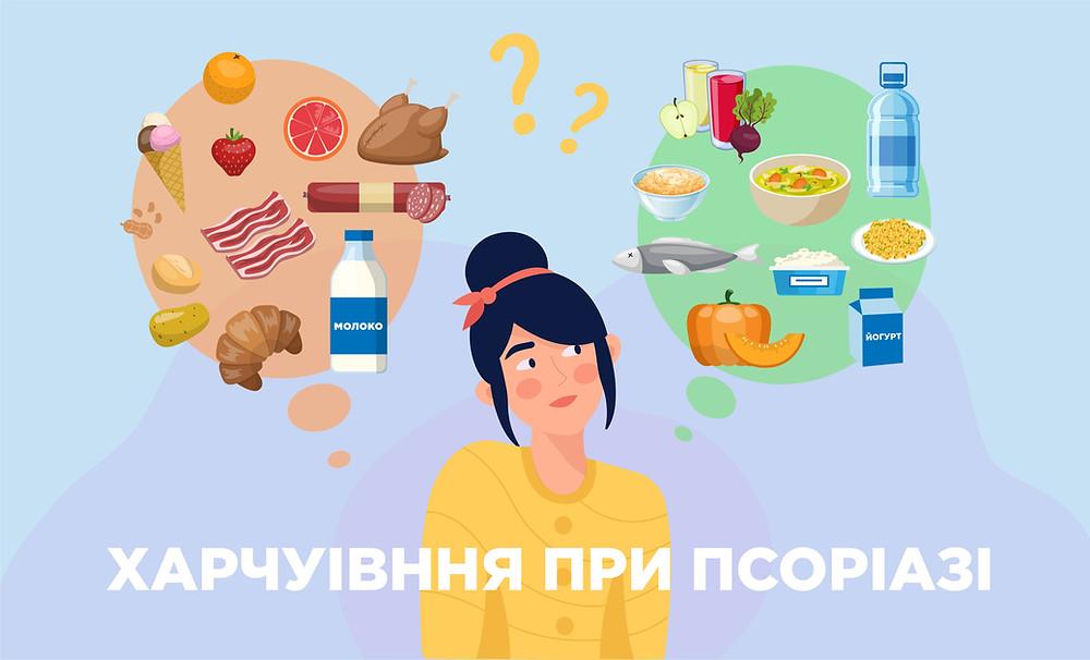 Дієта при псоріазі - zborovik.com.ua