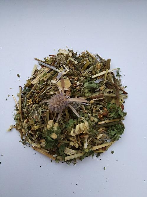 Травяной сбор при сыпях, диатезе, аллергии у детей