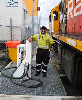 Everlink - train filling system for railways
