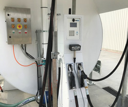 Everlink bus depot diesel dispenser