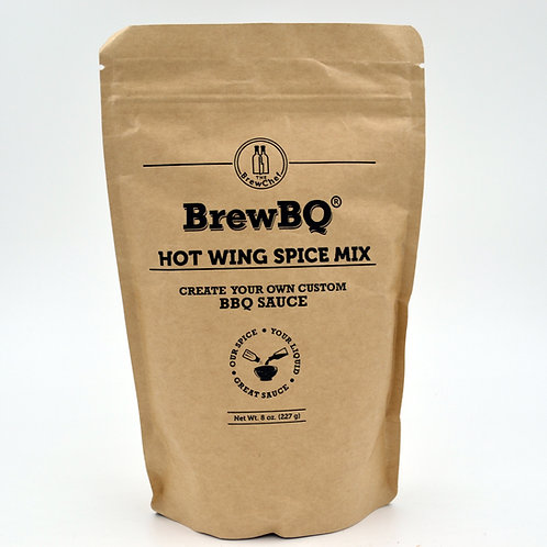 BrewBQ Hot Wing Sauce Mix