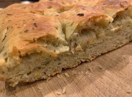 Family Dinner - Garlic Herb French Bread