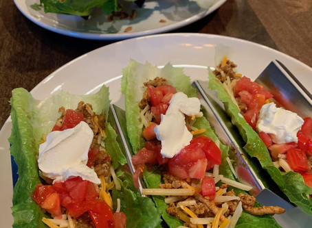 Family Dinner - Healthy Tacos