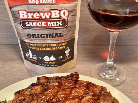 Red Wine BrewBQ Steak