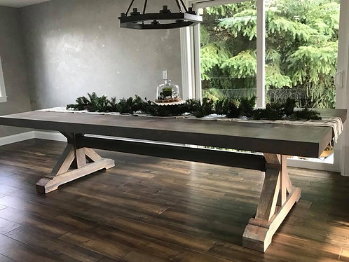 Spalted Maple Farmhouse Dining room Table