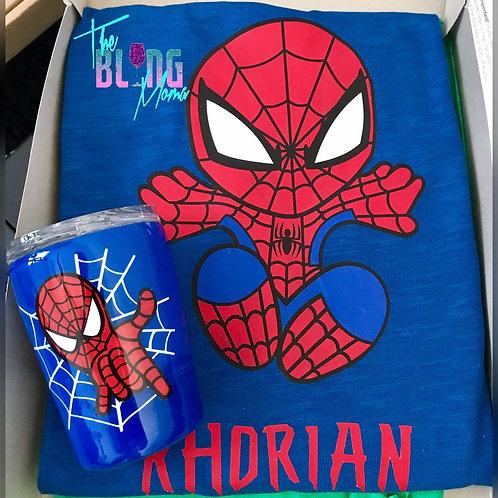 Birthday Shirt and 8oz Tumbler Cup Set