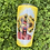 Thumbnail: Bright Yellow Sunflower Afro Stainless Steel Tumbler