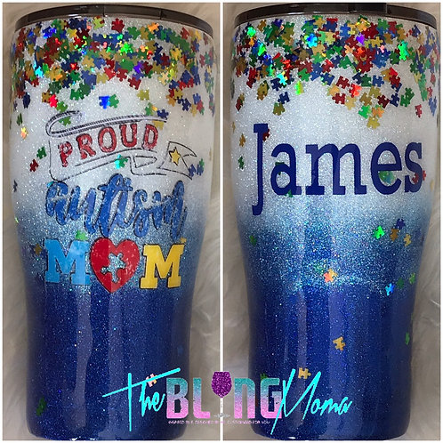 Autism Awareness | Stainless Steel Tumbler