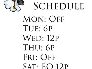 IOF Broadcast Schedule