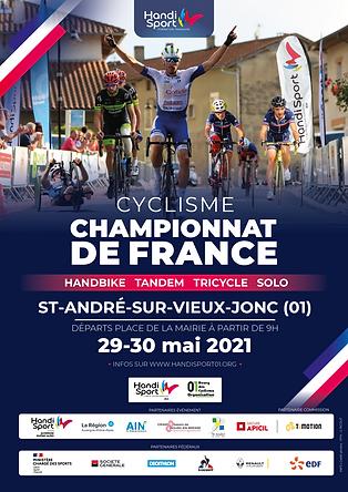 Affiche France Cyclisme 2021