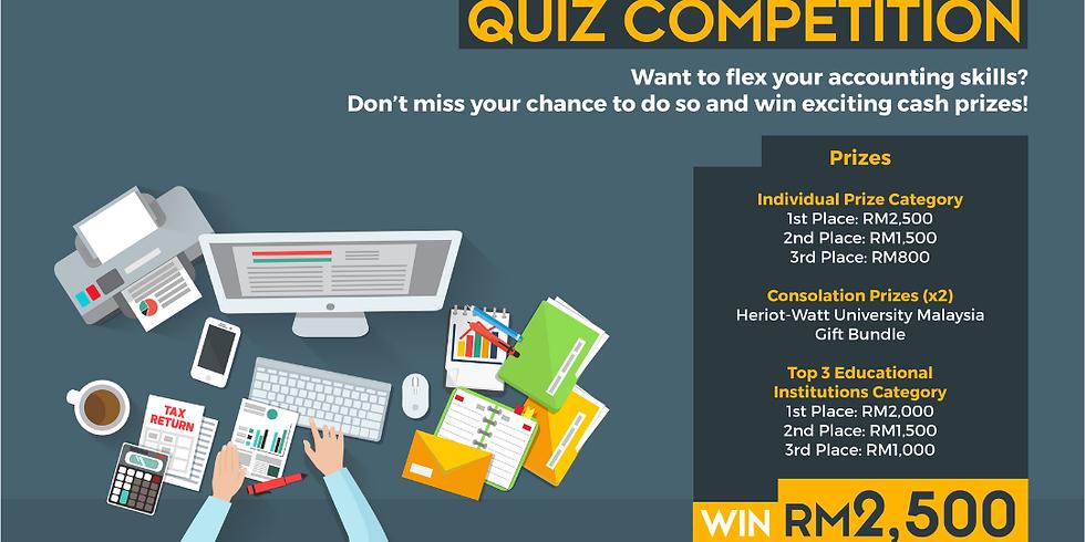 Heriot-Watt University Malaysia Accountant Quiz Competition!