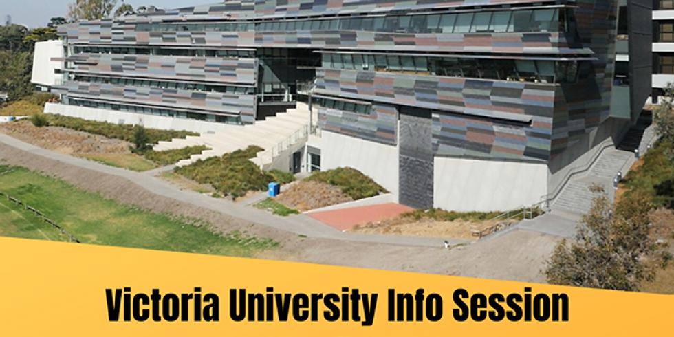 Victoria University Info Session
