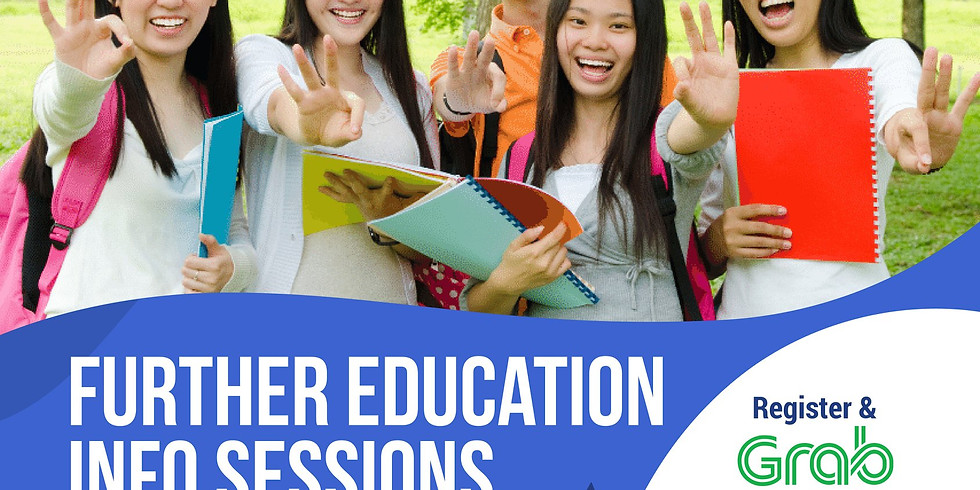 Further Education Info Sessions