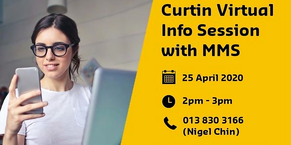 Curtin Virtual Info Session with MMS