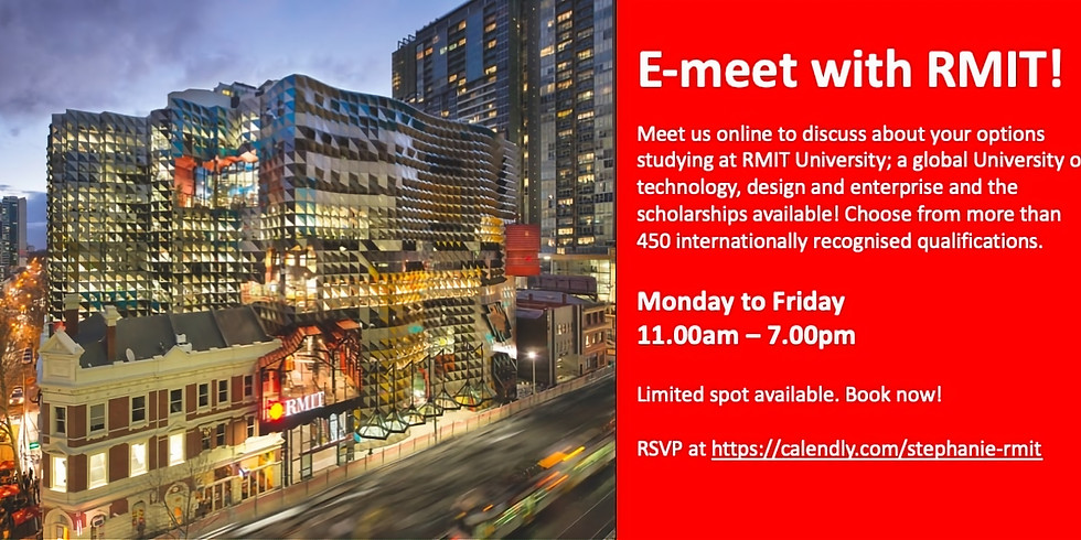 E-Meet with RMIT