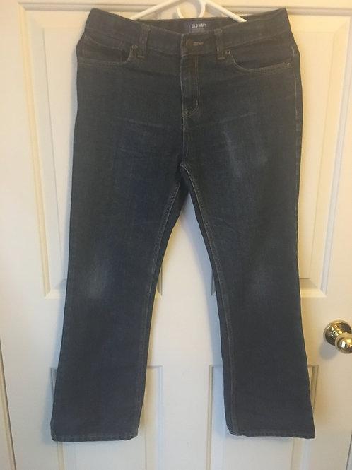 (Old Navy/S:12/L) Dark Blue Wide Legged Jeans 046