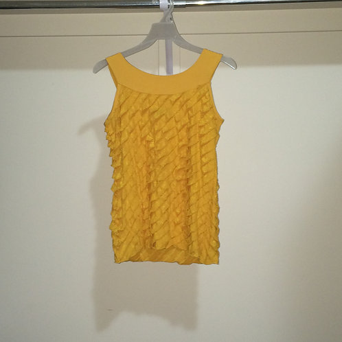 (Double Take/S:Small) Ruffled Top