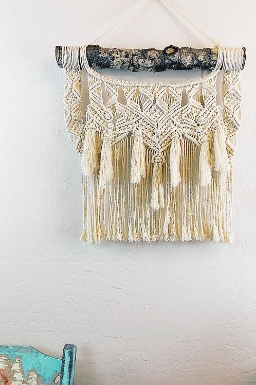 Handmade BOHO style Macrame Wall Hanging