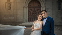 Snow Suen (孫慧雪) and Edwin Lo's pre-wedding