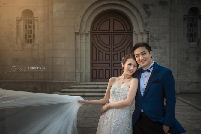 Snow Suen (孫慧雪) and Edwin Lo's pre-wedding