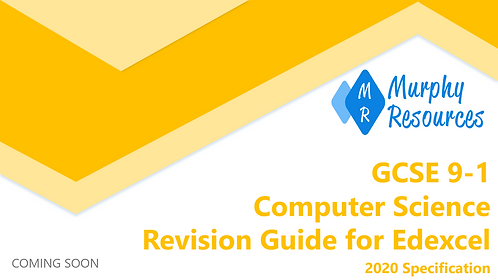 GCSE 9-1 Computer Science Revision for Edexcel (2020)