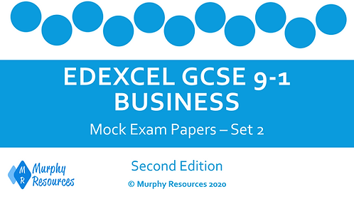GCSE Business Mock Exam Papers - Set 2 (Second Edition)