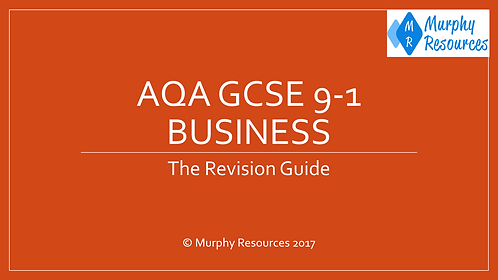 GCSE 9-1 Business Revision for AQA