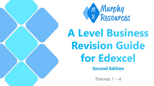 A Level Business Revision for Edexcel (Second Edition)