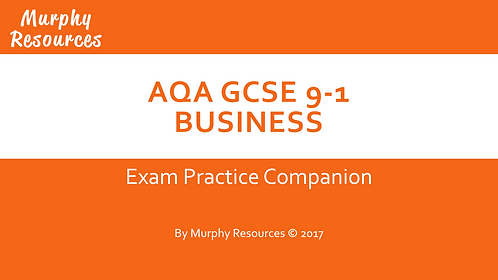 GCSE 9-1 Business Exam Companion for AQA
