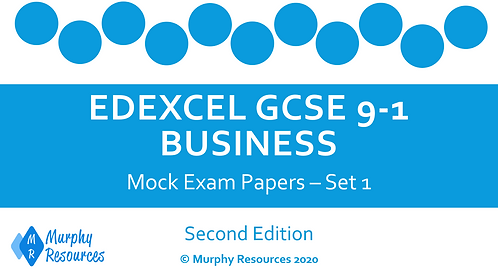 GCSE Business Mock Exam Papers - Set 1 (Second Edition)