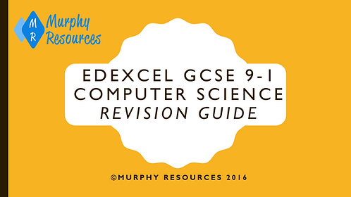 GCSE 9-1 Computer Science Revision for Edexcel (2016)