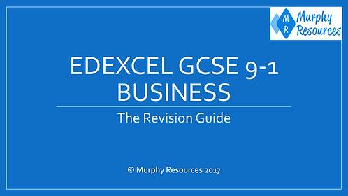 GCSE 9-1 Business Revision for Edexcel