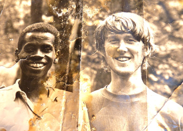 Photo Hamisi saved of us from 1973, given to me in 2009 at our reunion. Photo courtesy of John Crocker, 1973.