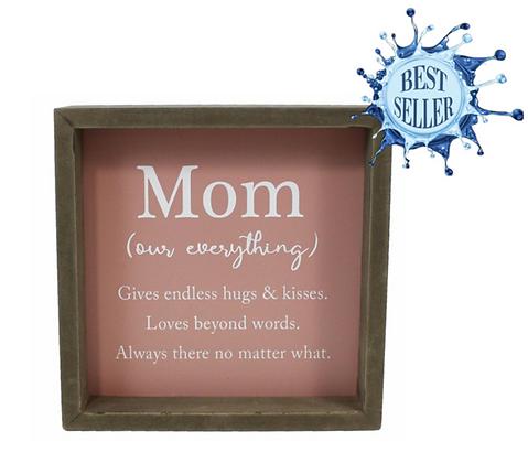 Mom Framed Sign