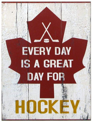 Everyday Day is a Great Day for Hockey