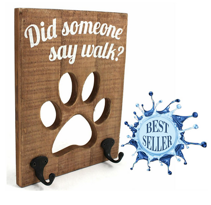 Dog leash Coat Hanger
