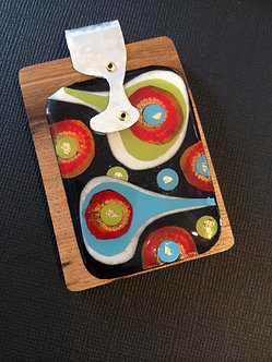 Timber & Collage Pendant