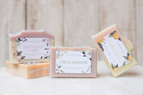 Niche Boutique Florals Handcrafted Soap ~ $7