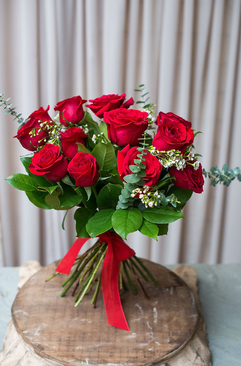 Handtied Rose Bouquet ~ From $99